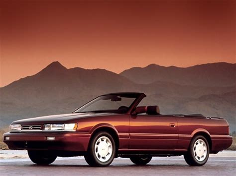 Катаемся на самой странной модели mercedes. INFINITI M30 Convertible specs & photos - 1990, 1991, 1992 ...