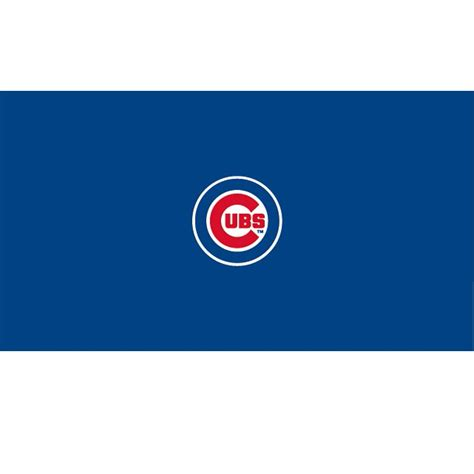 chicago cubs table l chicago cubs pool table cloth