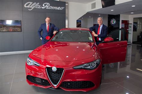 Alfa Romeo Dealership by Alfa Romeo Rolls Into Brisbane
