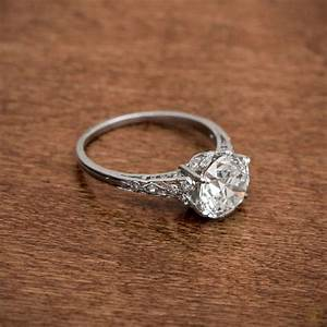 the best breathtaking vintage engagement rings collections With wedding ring collection