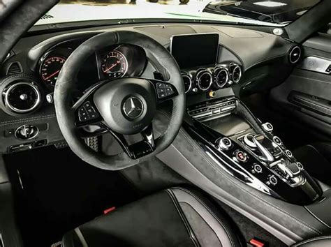 More power for the coupe and roadster. Mercedes Benz Amg Gtr Interior