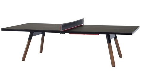 table and l in one table l 274 cm ping pong dining table black wood