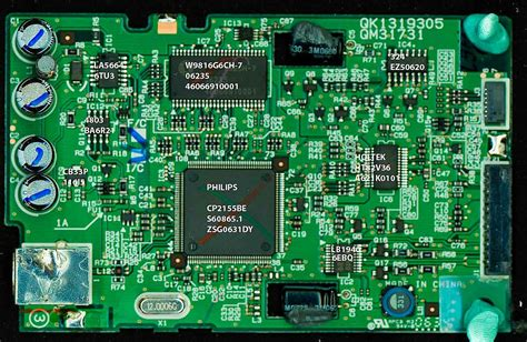 canon lide  usb chip  circuit board