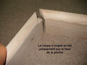 Plinthes En Bois : plinthes et coupes d 39 onglet bois le bouvet ~ Nature-et-papiers.com Idées de Décoration