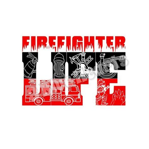 Choose from over a million free vectors, clipart graphics, vector art images, design templates, and illustrations created by artists worldwide! Firefighter Life SVG dxf pdf Studio jpg, Firefighter SVG ...