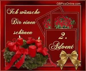 Grüße Zum 2 Advent Lustig : 2 advent bilder 2 advent gb pics seite 2 gbpicsonline ~ Haus.voiturepedia.club Haus und Dekorationen