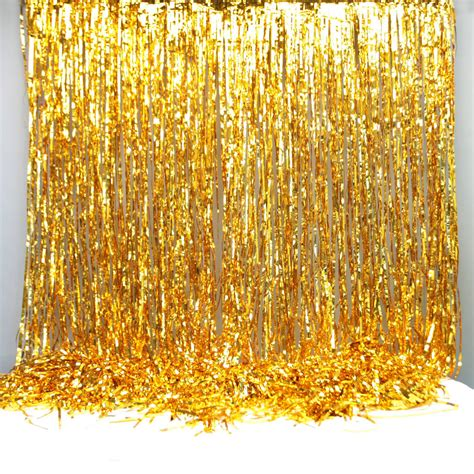 Foil Curtain Backdrop by Gold Foil Curtain Backdrop Decoration By Postbox