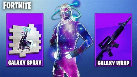fortnite galaxy skin weapon camo galaxy skin spray