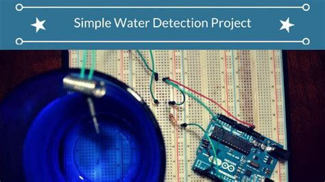 How Make Arduino Water Detection Alarm Programming