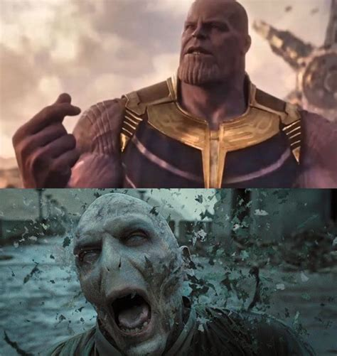 Thanos Did Nothing Wrong Harrypottermemes