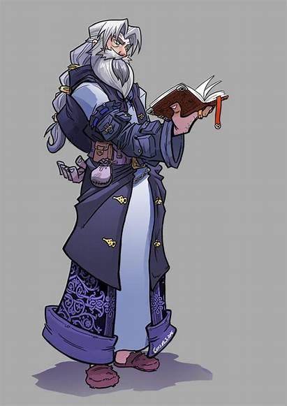Wizard Fantasy Artstation Character Dnd Drunken Luis
