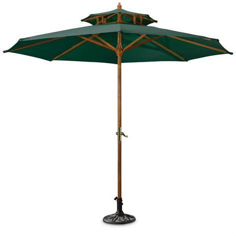 Decorative Iron Umbrella Base, Black - 155726, Patio ...
