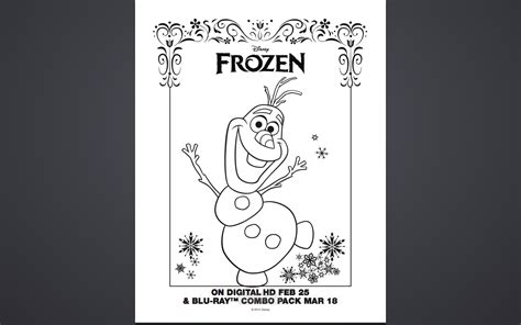 frozen coloring pages  activity sheet printables classy mommy