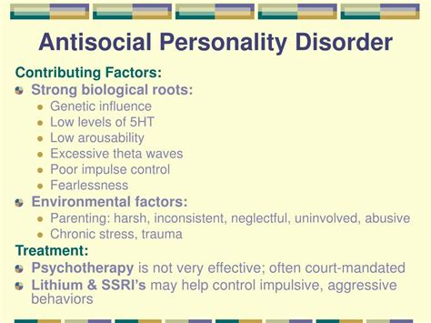 Ppt  Personality Disorders Powerpoint Presentation  Id. Southern Caribbean Cruise Deals. Online Certificate Programs Texas. Highest Rated Online Colleges. Mba Programs In Indianapolis. Online Dental Assistant Degree. Customer Success Manager Dodge Dealer Indiana. Gre Prep Course Reviews Quicken Money Manager. What Credit Card Starts With A 3