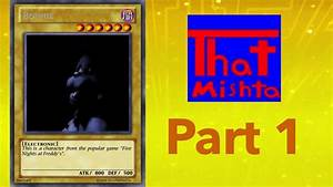 How To Make Your Own Yu Gi Oh Cards Part 1 Monsters Youtube