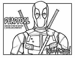 deadpool printable coloring pages - it 39 s everybody 39 s favorite merc with a mouth deadpool