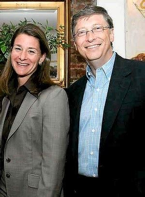 Melinda and Bill Gates - Microsoft mogul Bill Gates built ...