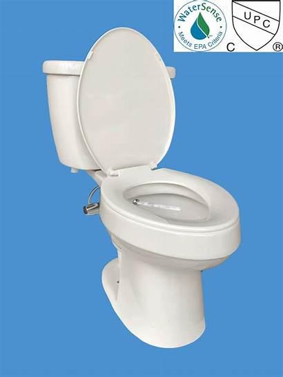 Flushing Money Piece Collar Bidet Toilet Flush