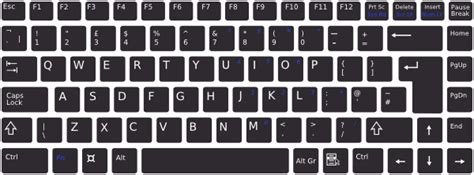 Simple Keyboard Clip Art At Clker.com