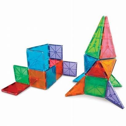 Magna Tiles Clear Colors Piece Magnatiles Toy