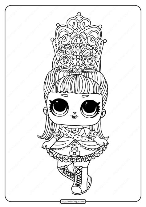 lol surprise doll jitterbug coloring page   cartoon coloring pages coloring pages lol