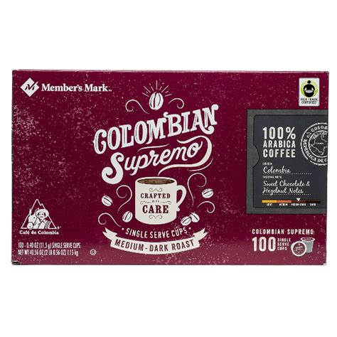 There is no wrong way to go with them though each of us has various taste likings. Member's Mark Colombian Supremo Coffee Single Serve K-Cup Coffee Pods, 100 ct. - Whole And Natural
