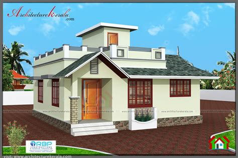two houses 2 bedroom house plan and elevation in 700 sqft