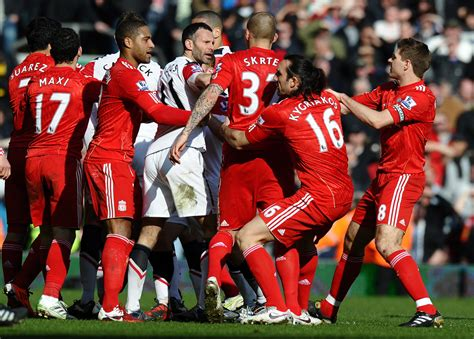 liverpool  manchester united rivalry  pictures
