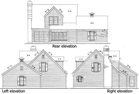 cape cod floor plans with loft cape cod home plan 19210gt 1st floor master suite