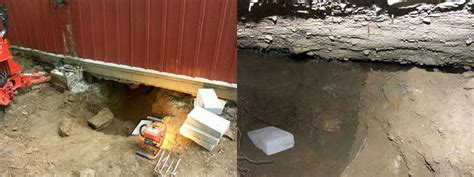 lifting a garage from the foundation garage floor repair concrete chiropractor