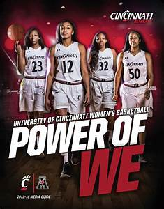 2015-16 Cincinnati Women's Basketball Media Guide by ...