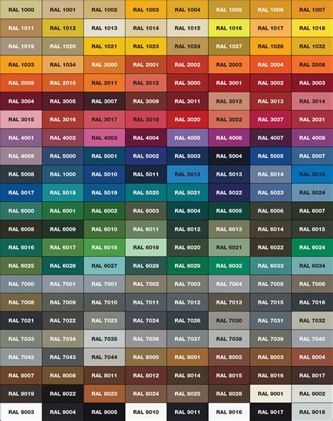 paint colors rack engineering division