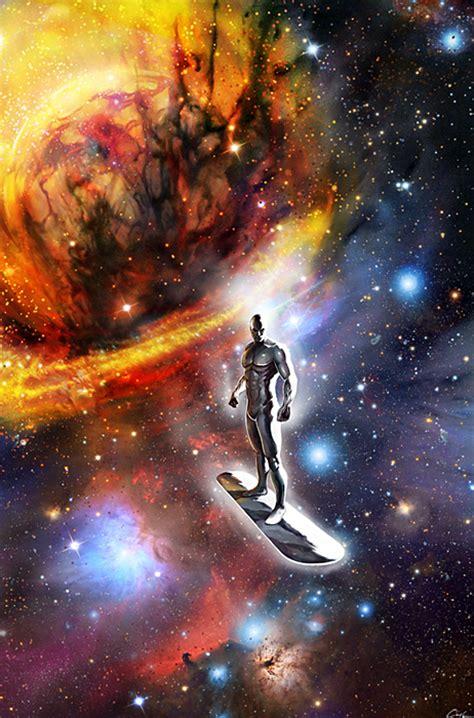 silver surfer regret comic book fan art