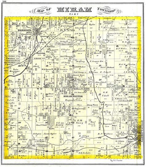census tabulations  hiram portage  ohio