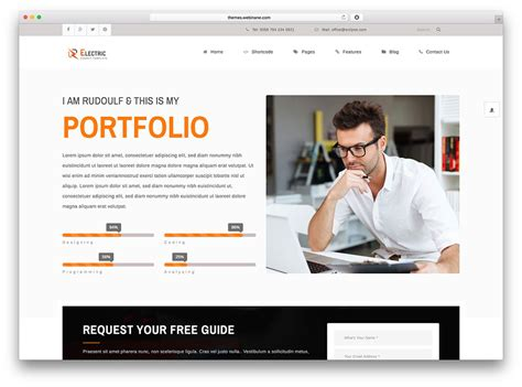 30 best vcard themes 2016 for your resume