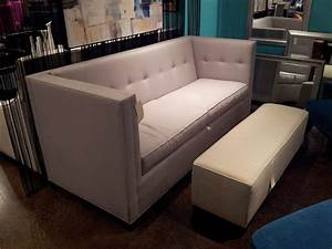 Marvelous ottoman sleeper in family room modern with for Contemporary velvet sectional sofa