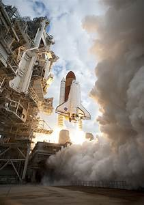 Space Shuttle Launch Into Space : space