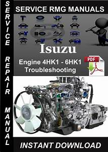 Engine Repair  Isuzu 4hf1 Engine Repair Manual