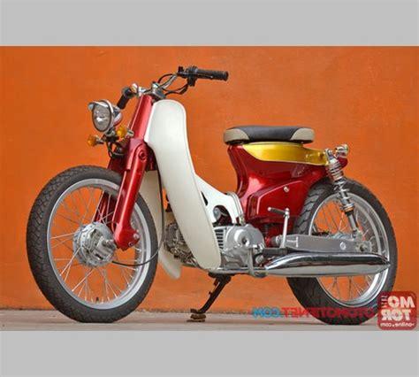 Jok C70 Modif by Foto Modifikasi Sepeda Motor Honda C70 C700 Modif Jok Dan