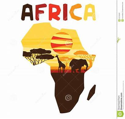 African Ethnic Carte Map Kaart Africana Origine