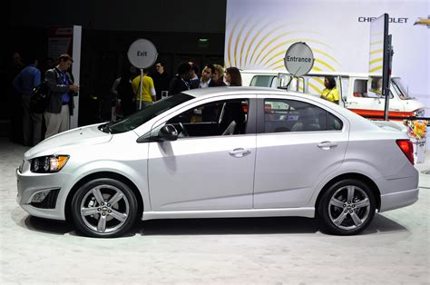 2018 Chevrolet Sonic Rs Sedan Priced At 20530 Sonic