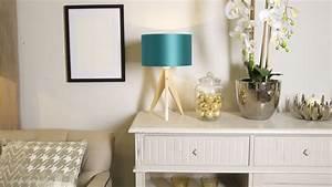 Lampe Bleu Canard : abat jour bleu canard lampes coquettes i westwing ~ Teatrodelosmanantiales.com Idées de Décoration