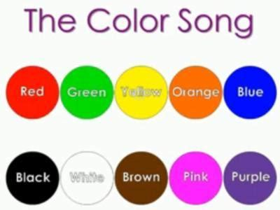 songs with colors in the name green page 1