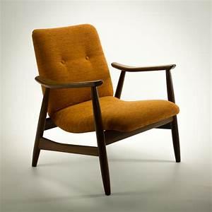 60s webe louis van teeffelen teak fauteuil barbmama for Fauteuil design retro