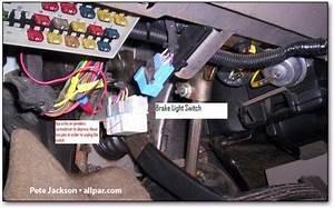 Minivan Brake Light Switch Repair
