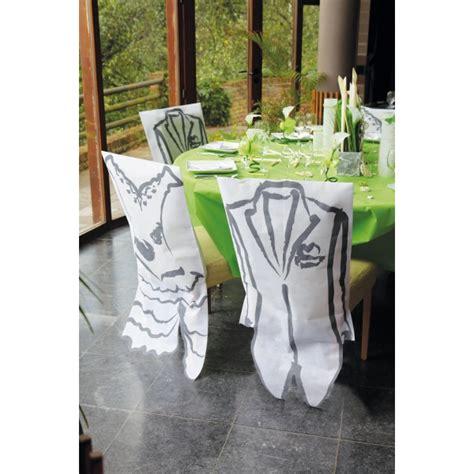 housse de chaise blanche housse de chaise blanche avec costume homme
