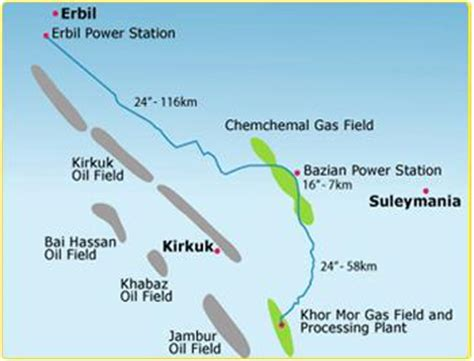 gas resumes production at khor mor plant in