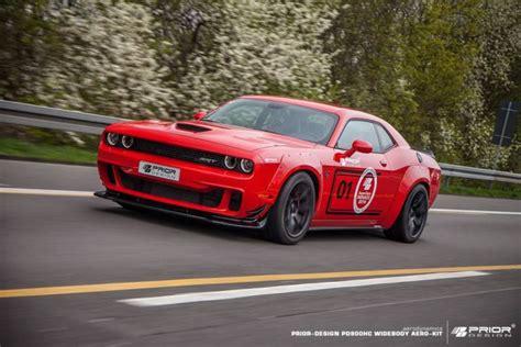Polizei Stoppt Dodge Challenger by Extrem Prior Design Pdhc900 Dodge Challenger Hellcat Mit