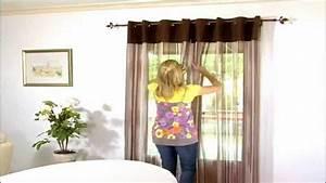 Tringle Rideau Fenetre : tringle rideau sans percer fixrod secodir rideaux et ~ Premium-room.com Idées de Décoration