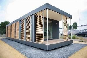 Kleine Fertighäuser Kaufen : neues wohnen im cubig designhaus minihaus houses micro houses pinterest minihaus ~ Watch28wear.com Haus und Dekorationen